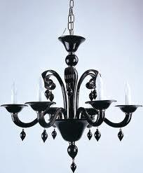 The Black Beauty, Murano Glass Chandelier