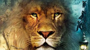 The Brave, wise leader Lion, Aslan in Narnia