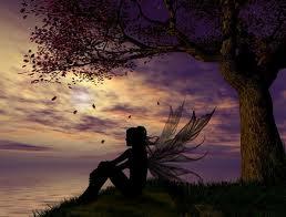 The Tree Fairy at Twilight