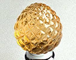 Crystal Pineapple Knob