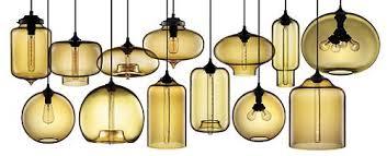 Glass Orb Pednant Lighting
