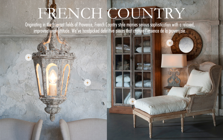 A peek into French Country.