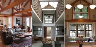 White washed cottage walls -- interior.