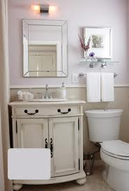 Pacific Mist, repainted vanity and upper wall.