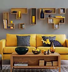Modern Yellow Submarine in decor of a lounge design room.