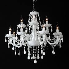 Its the balance of Light found in a traditional white glass/crystal chandelier.