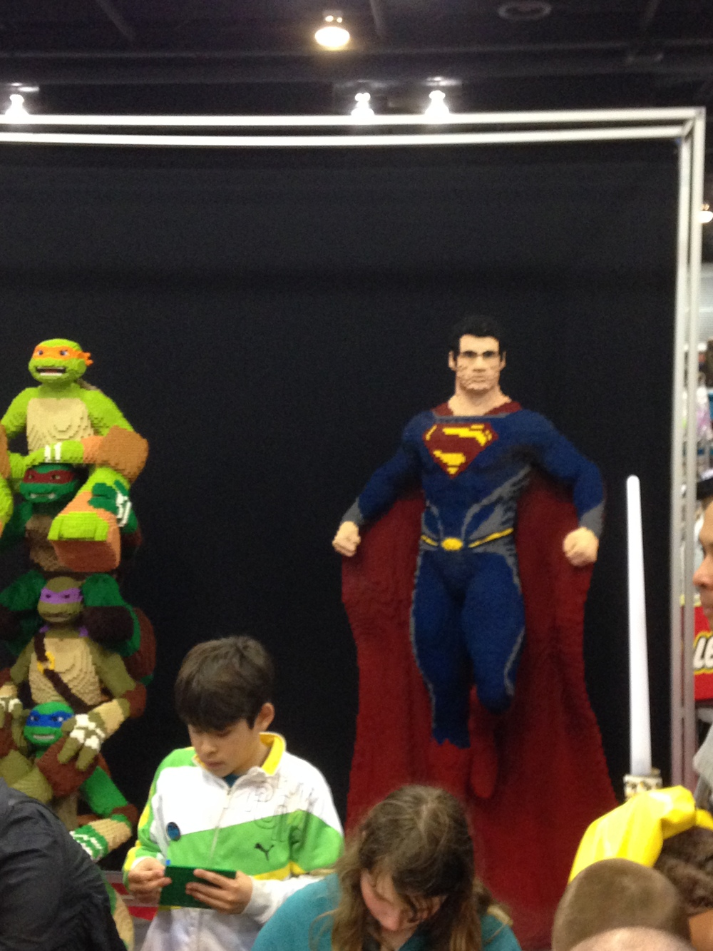 The Ninja Turtles, Superman.....and Batman in the mix too!