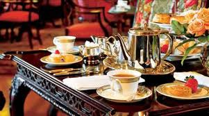 High Tea served in true English style, silver service & china