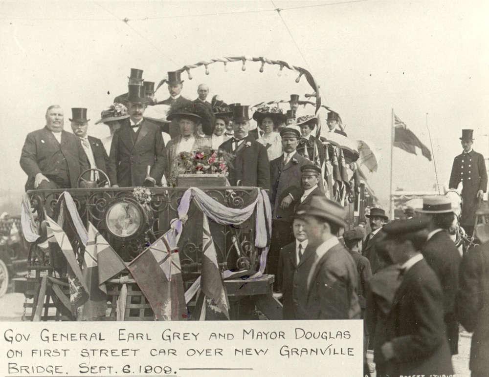 Opening of The Granville Street Bridge