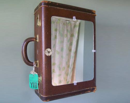Suitcase Cabinet!