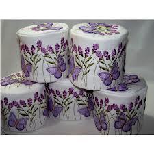 Also the era of Designer Toilet paper....remember!