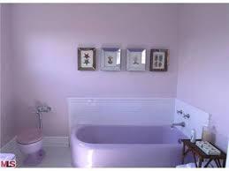 Lavender toilet & tub