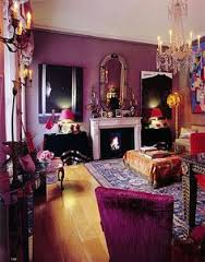 A hit of a purple living room just to get your mind photo snap on the right page!