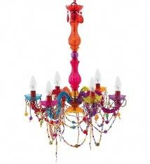 Chandelier of Bold Colours