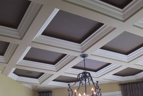 Two Tone Coffered