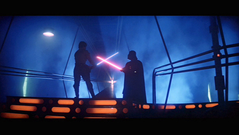Staircase of passage......Darth is YOUR Father?