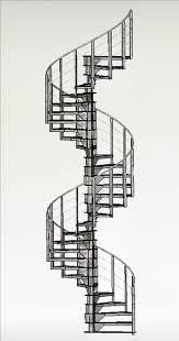 Pole anchor Spiral Staircase
