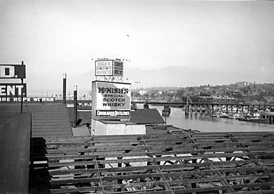 Granville Island as industrial trades.....ahh Whisky too!