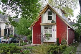 A Tiny House metal roof, bold yet simple.