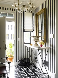 BOLD. Black n' White elegance and functional space.