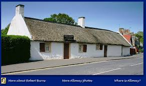 Burns Cottage in Alloway