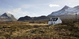 Scottish Cottage known as a wee Butt n' Ben.