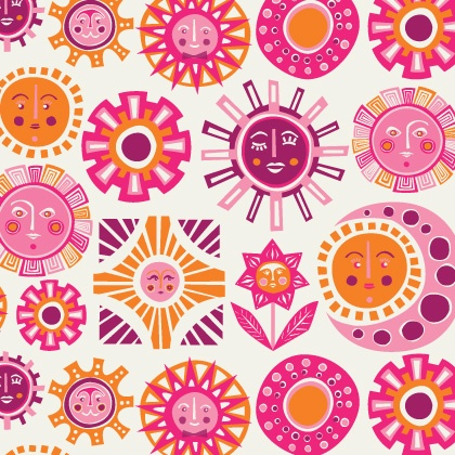 Sun - Pink