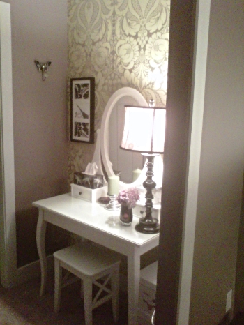 The Boudoir Walk-In Closet transformed...........stunning!