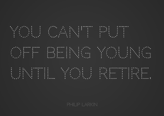 Philip Larkin quote