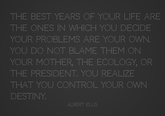 Albert Ellis quote