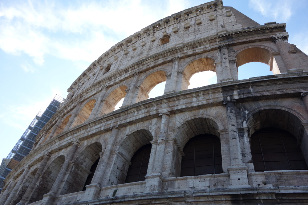 The mighty Colosseum