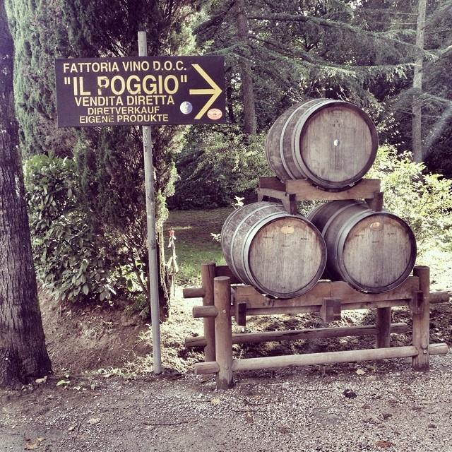 Il Poggio, Montecarlo Tuscany