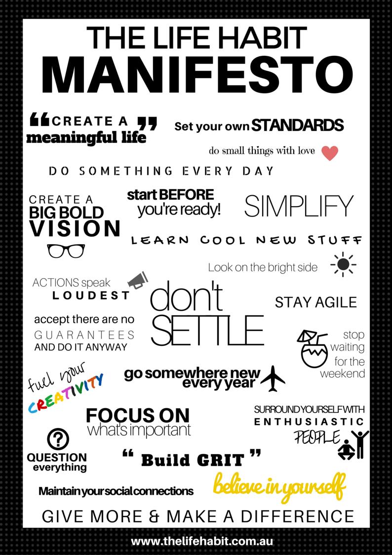 The_Life_Habit_Manifesto