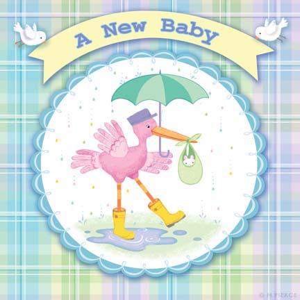 BBY11-stork umbrella