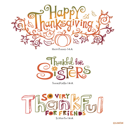 Thanksgiving-lettering