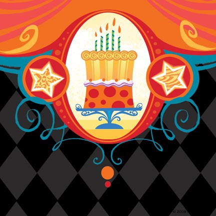 Bday-10-Harlequin cake B