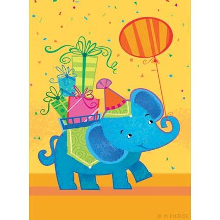 BDAY-10-Elephant w balloon