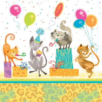 Bday-11-leopard stripe cats