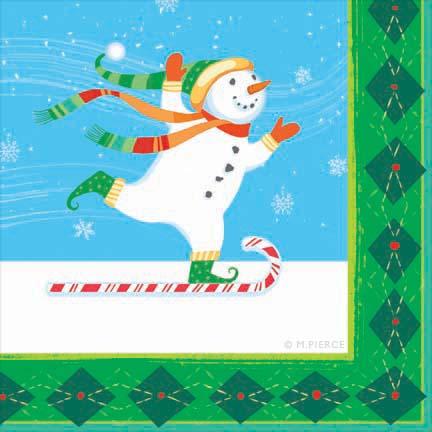 X_10WF-snowman napk