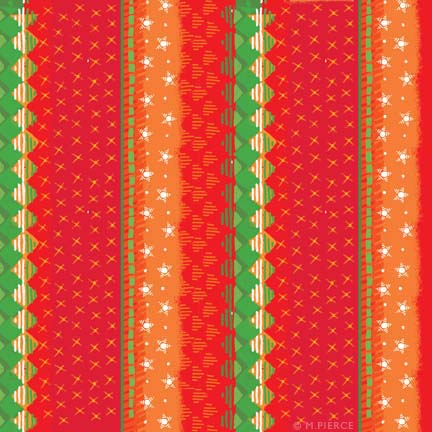 X_13-red knit pattern