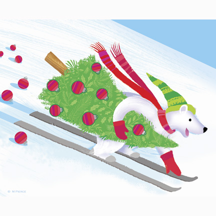 xmas-14-skiing polar bear