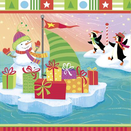 xmas-12-sailing snowman