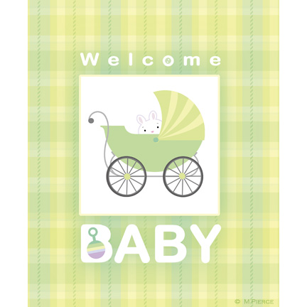 baby-14-green plaid A