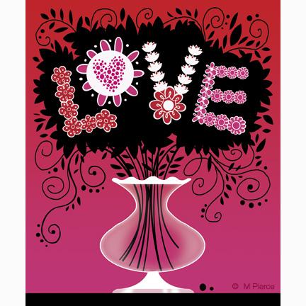 val-15-love vase