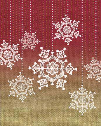 xmas-15- snowflakes D