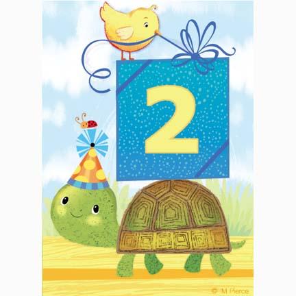 bday-15- Turtle 2 present