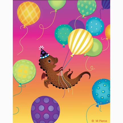 bday-15- dragon balloons
