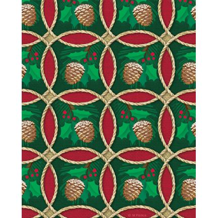 xmas-15-brlp circle pine cones