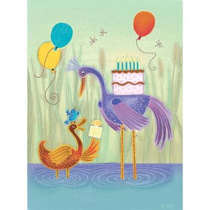 bday-16- duck stork