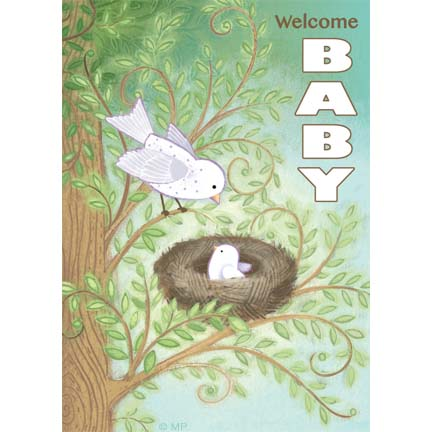baby-16- bird nest